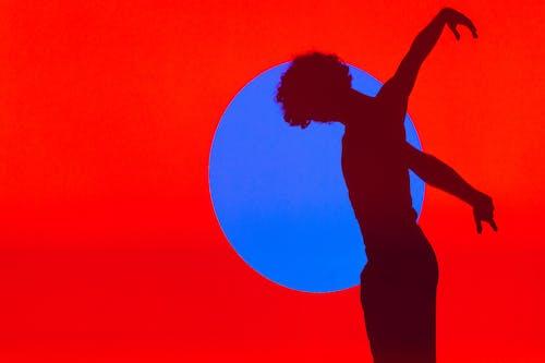 คลังภาพถ่ายฟรี ของ การแสดงออกของตนเอง, ซิลูเอตต์, ติ่ง