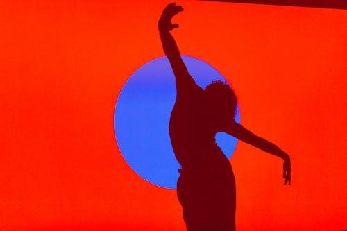 คลังภาพถ่ายฟรี ของ การเต้นรำ, การแสดงออกของตนเอง, ซิลูเอตต์