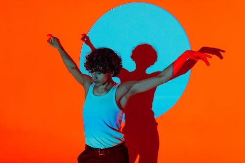 คลังภาพถ่ายฟรี ของ การเต้นรำ, การแสดงออกของตนเอง, ติ่ง