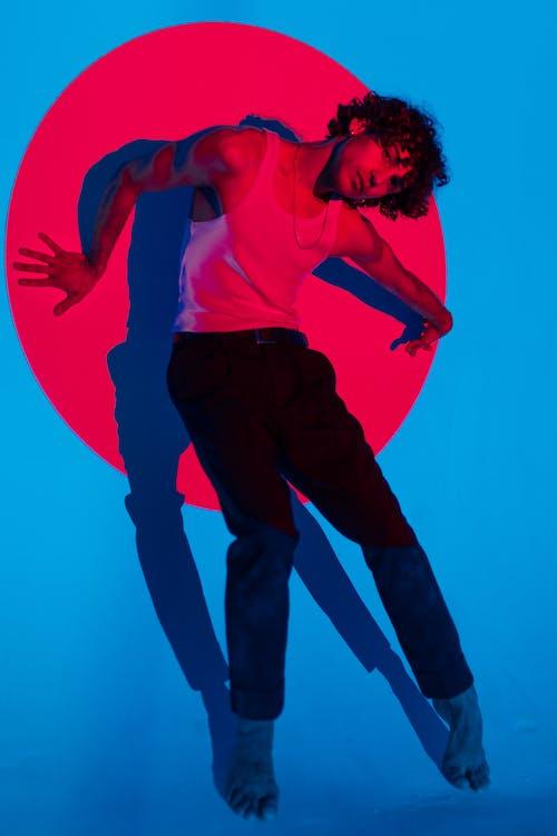 คลังภาพถ่ายฟรี ของ การจัดวาง, การสะท้อนแสง, การเต้นรำ