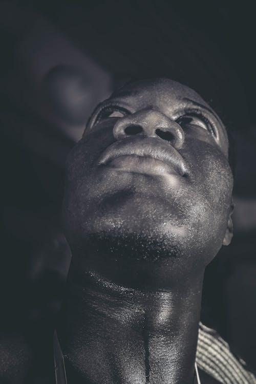 人, 低角度拍攝, 嘴唇, 成人 的 免費圖庫相片