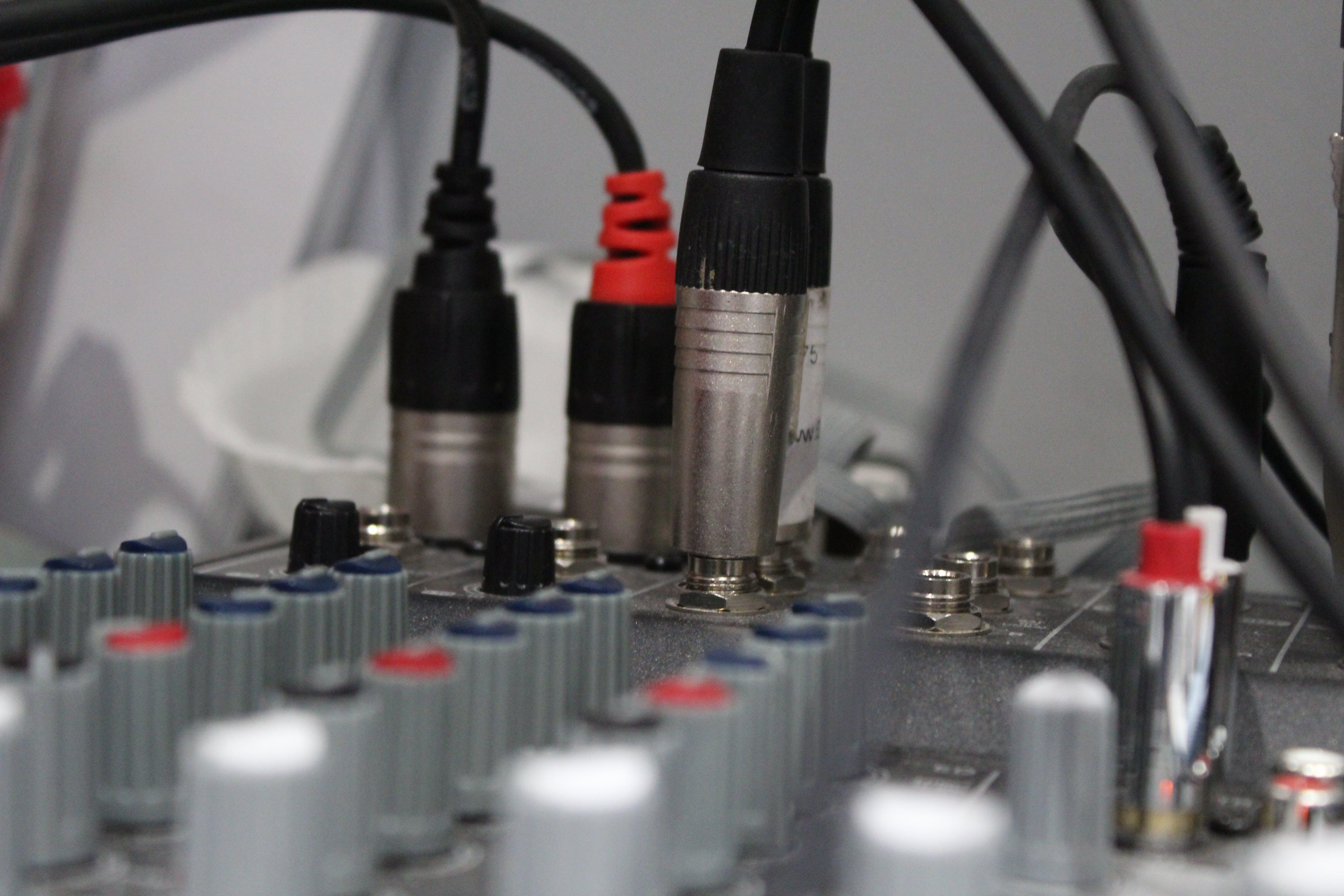 Free stock photo of desk, PA, sound, sound engineering