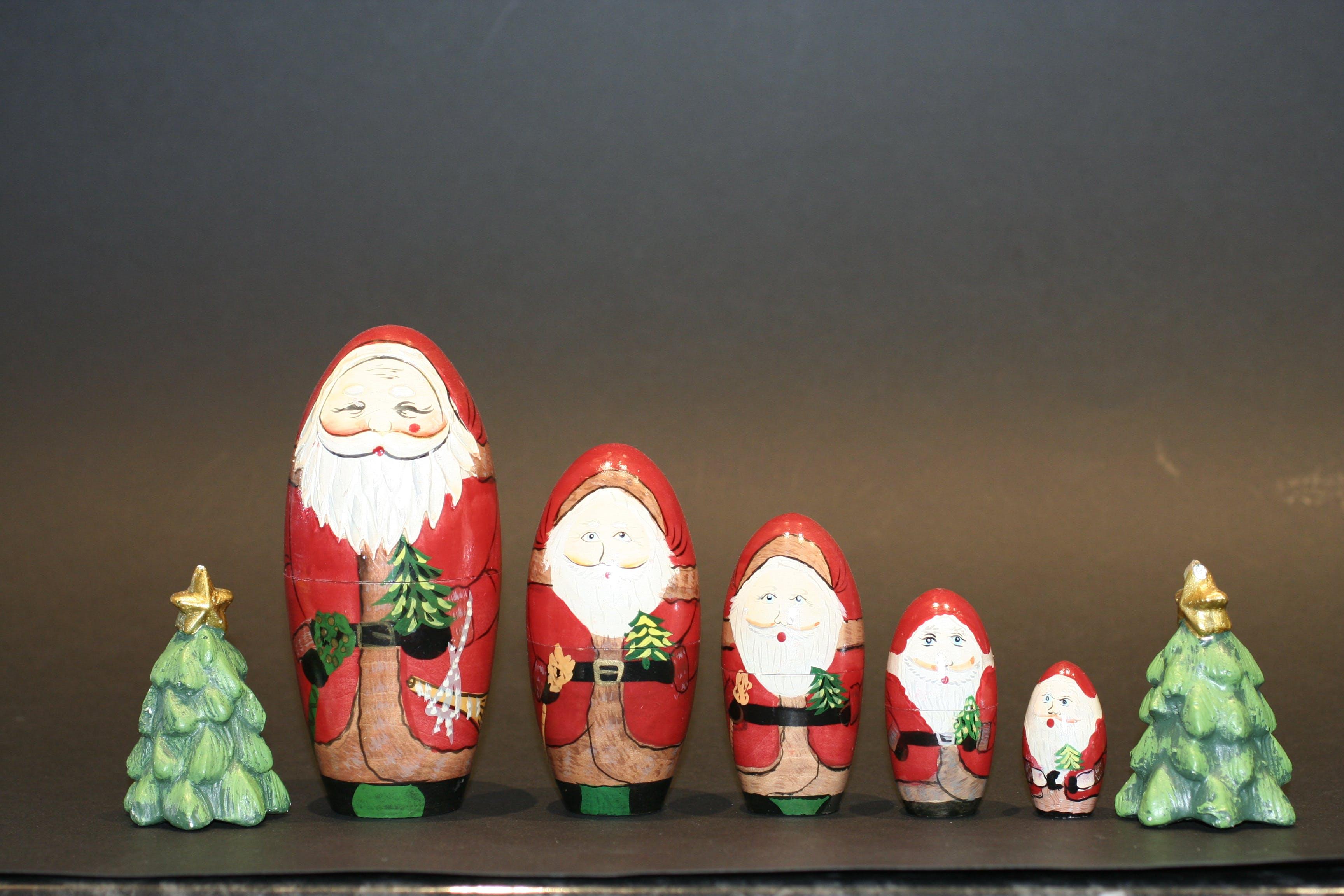 Gratis lagerfoto af fem, grøn, jul, juledekoration