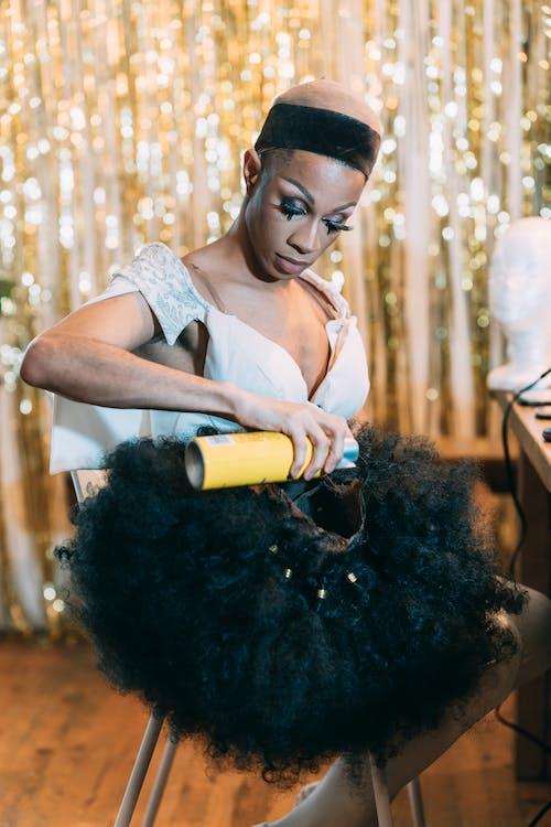 lgbtq, アフリカ系アメリカ人, アンドロギネスの無料の写真素材