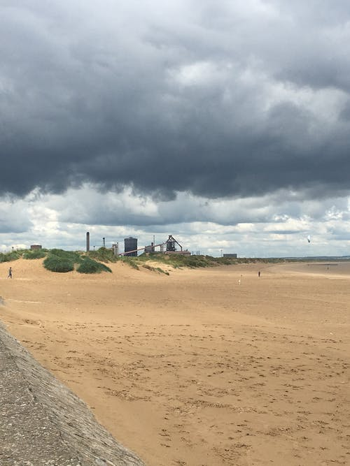 Free stock photo of British Steel, clouds, grey, people