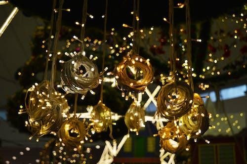 Photos gratuites de illuminations de noël, lumières, néons