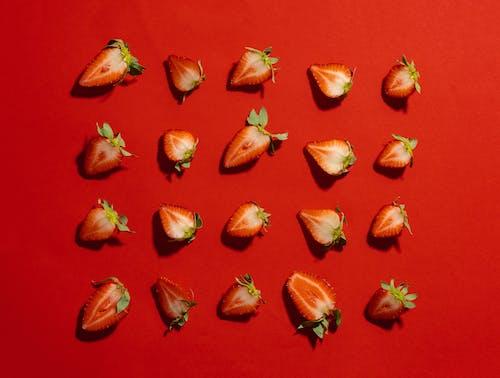 Gratis stockfoto met aardbeien, fris, fruit