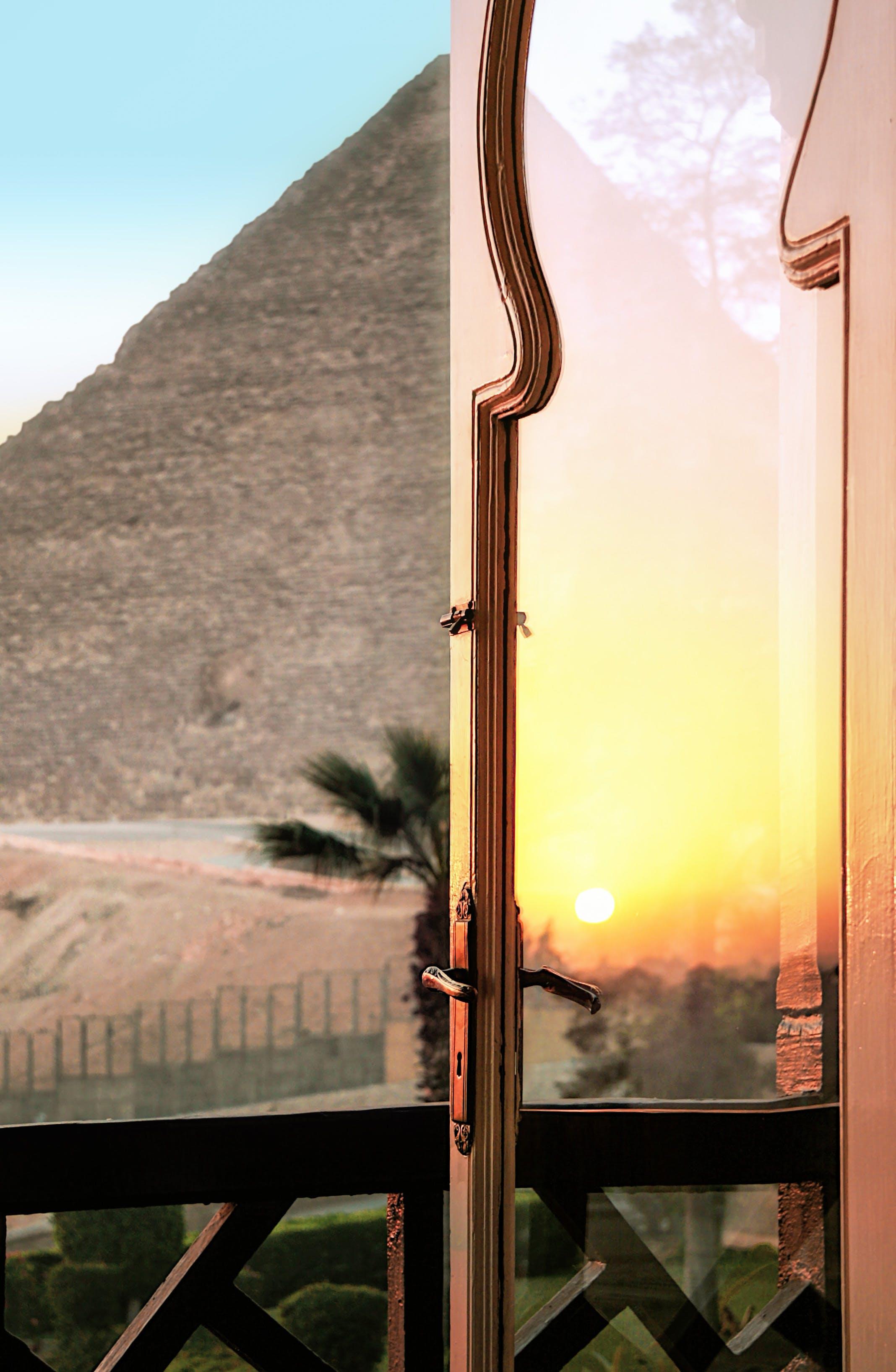 Kostenloses Stock Foto zu Ägypten, architektur, balkon, baum