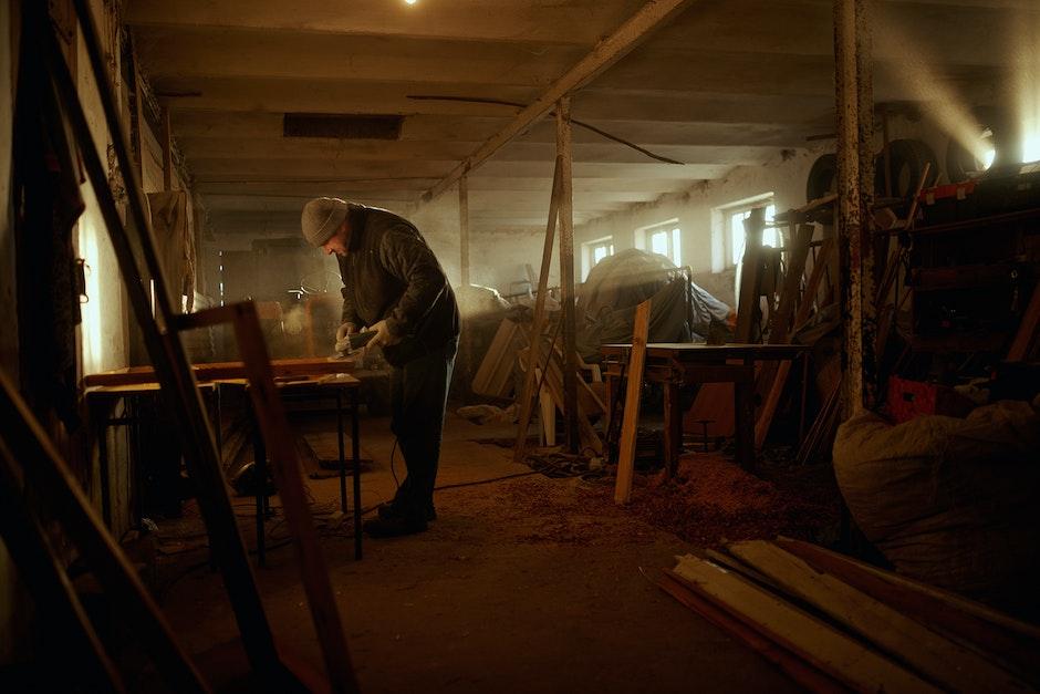 adult, dust, furniture