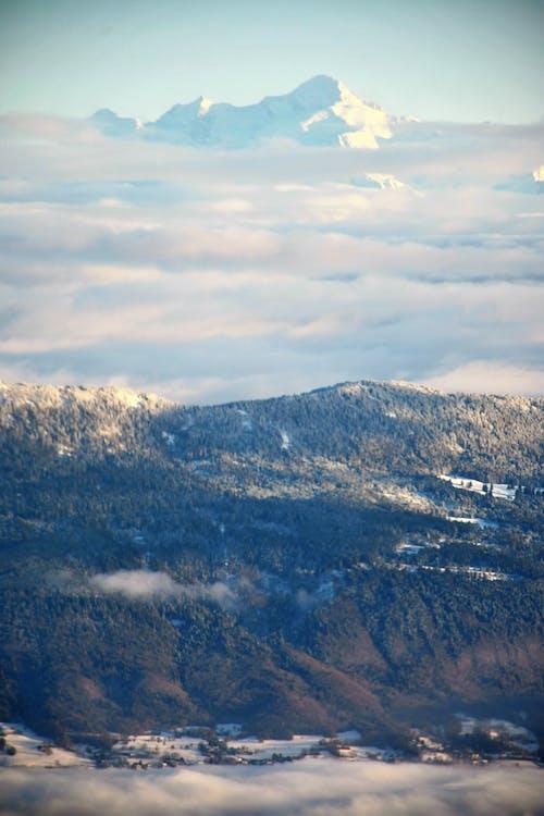 コールド, 冬, 山岳, 山頂の無料の写真素材