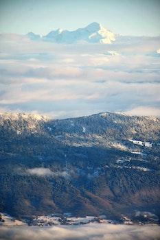 Photography Mountain Skyline Shot