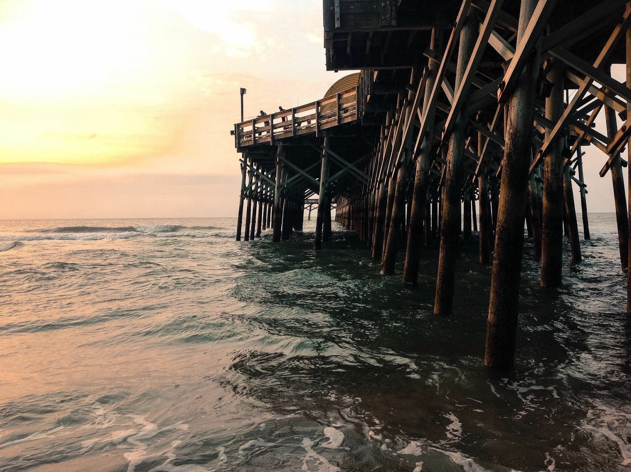 Free stock photo of coast, dock, myrtle beach, pier