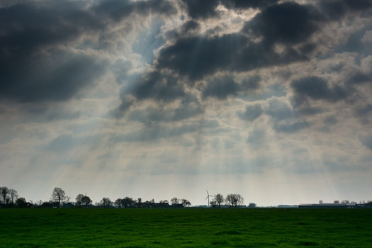 Free stock photo of sky, clouds, cloudy, ray of sunshine