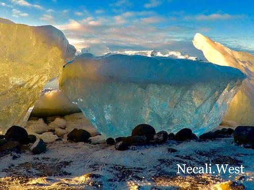 Kostnadsfri bild av blå lagun, glaciär, island, natur