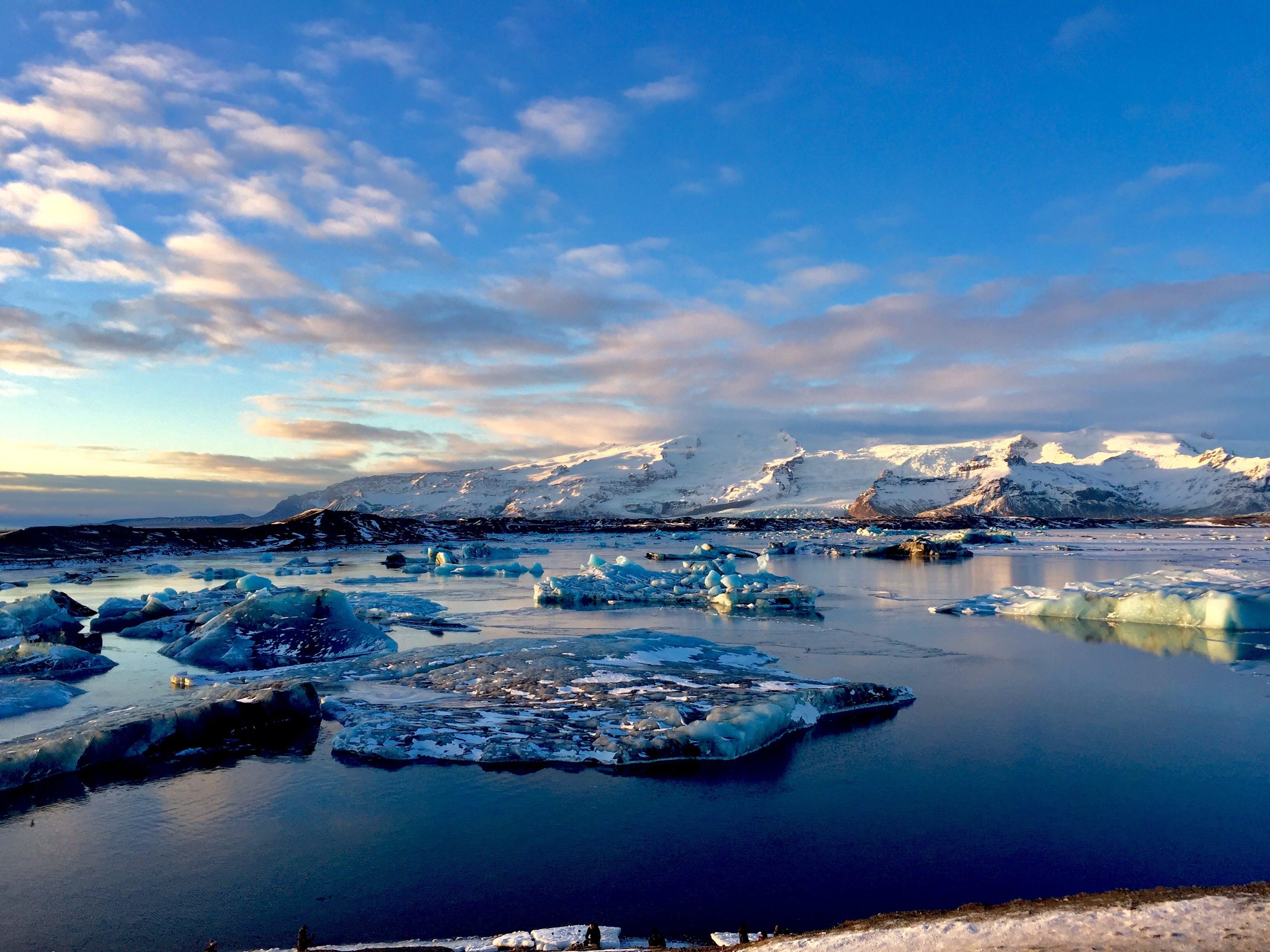 Free stock photo of beautiful, christmas, glacier, iceland