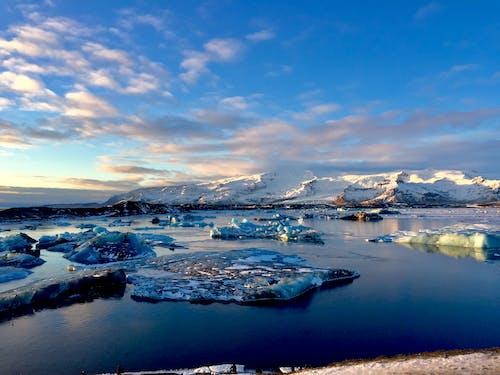 Kostnadsfri bild av glaciär, island, jul, skön