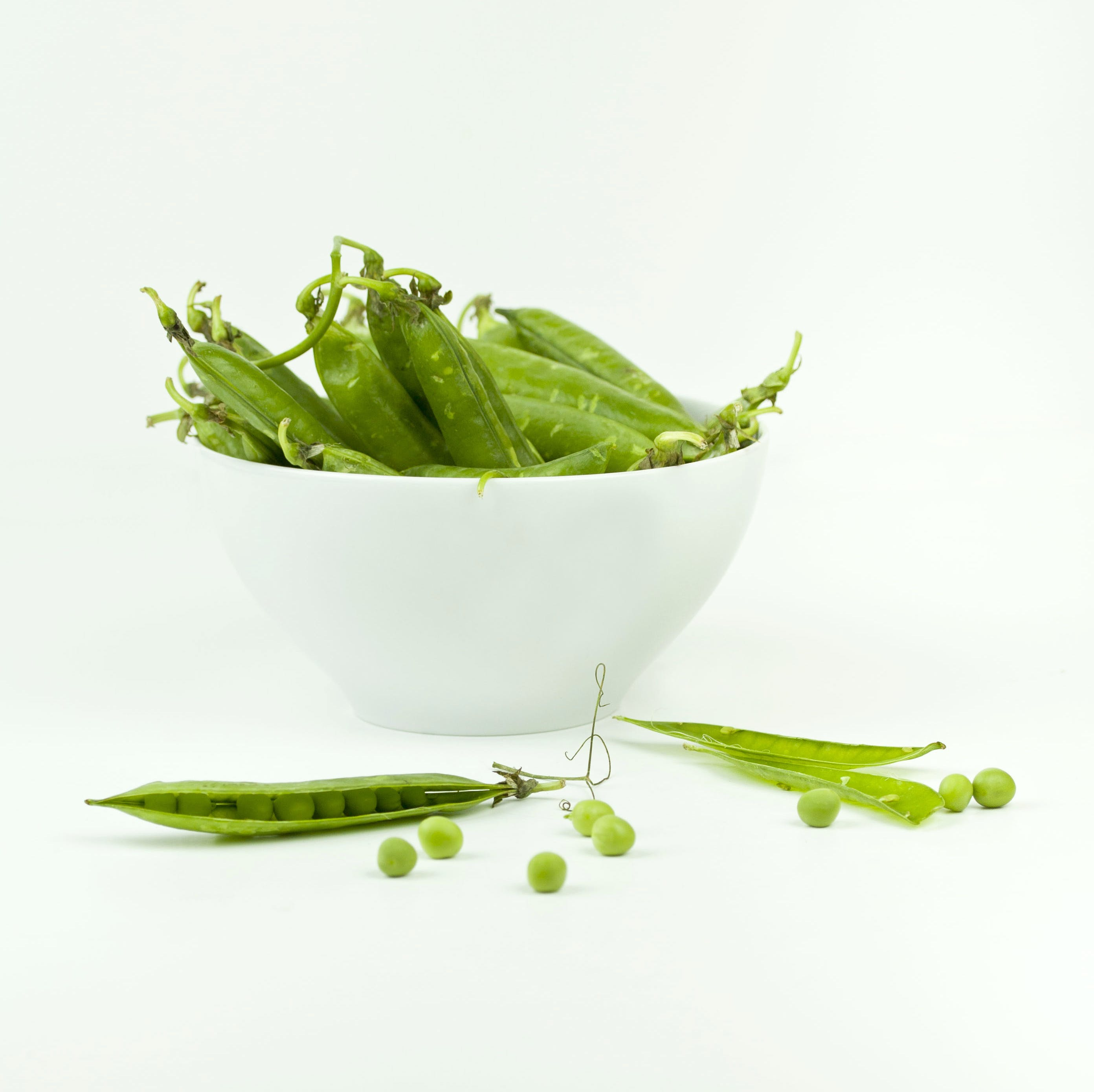 String Beans On Bowl