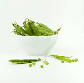 String Beans On Bowl
