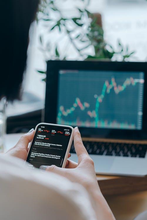 Kostenloses Stock Foto zu aktienmarkt, buchhaltung, digitaler nomade