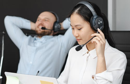 Foto stok gratis agen call center, bekerja, berfungsi