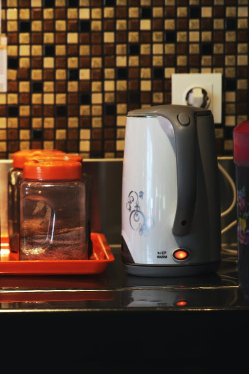 Free stock photo of electric kettle, house indoor, steam