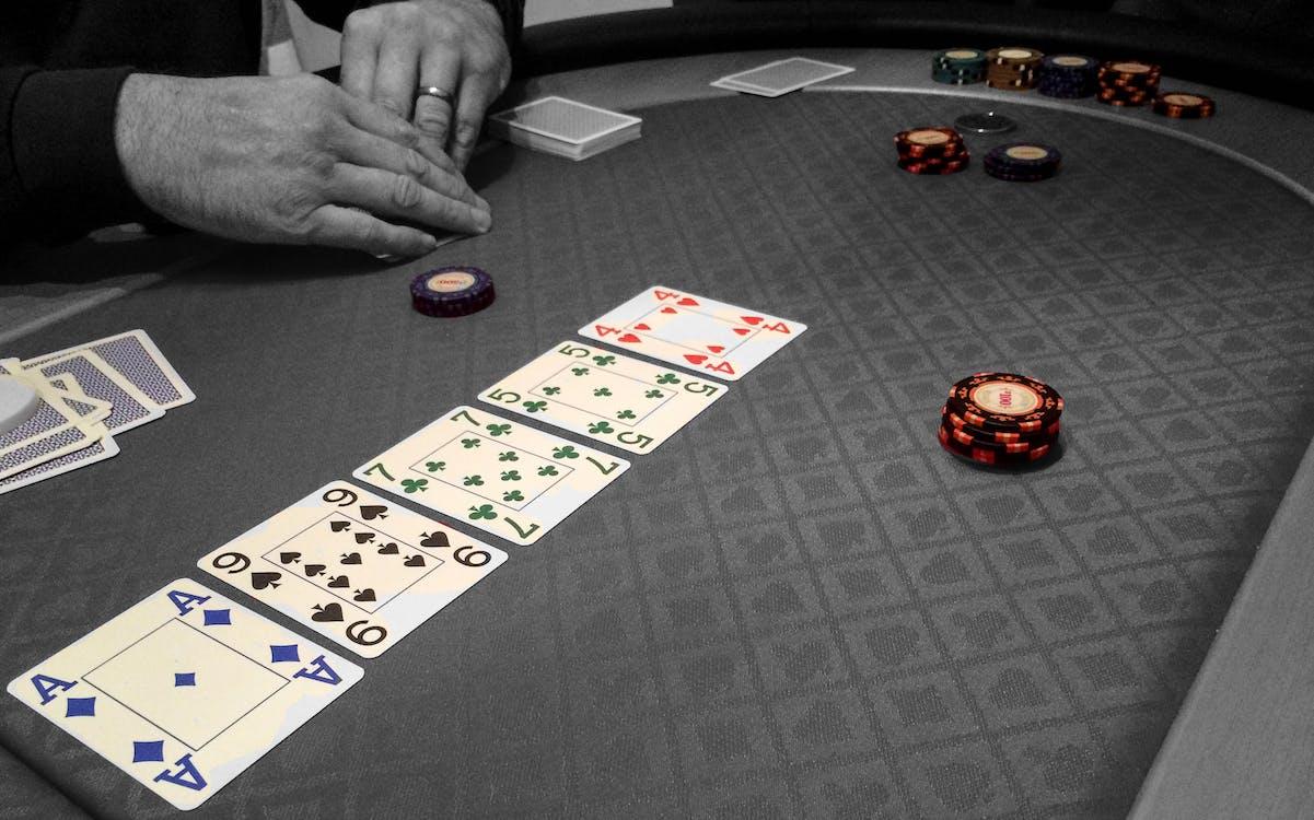 Free stock photo of chips, gambling, poker
