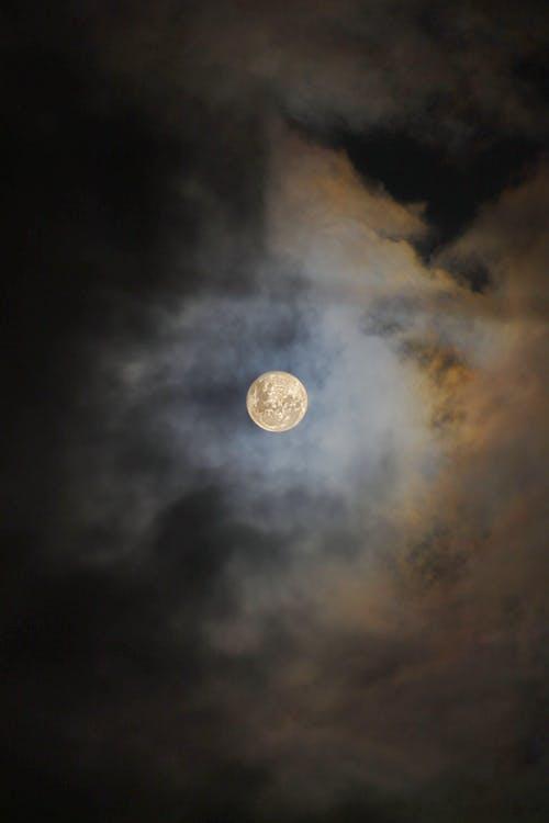 Fotos de stock gratuitas de al aire libre, cielo, luna