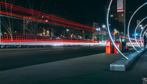 Photos gratuites de centre-ville, lumières, san jose