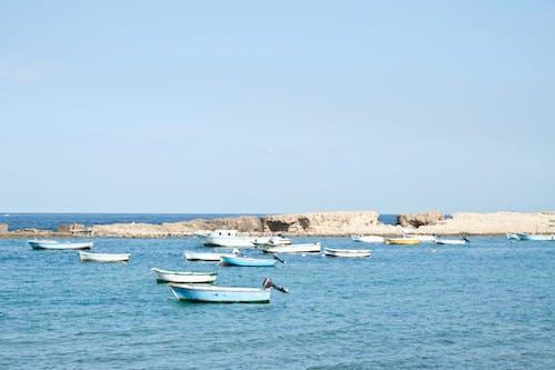 Δωρεάν στοκ φωτογραφιών με βάρκες, γνέφω, θάλασσα, μπλε