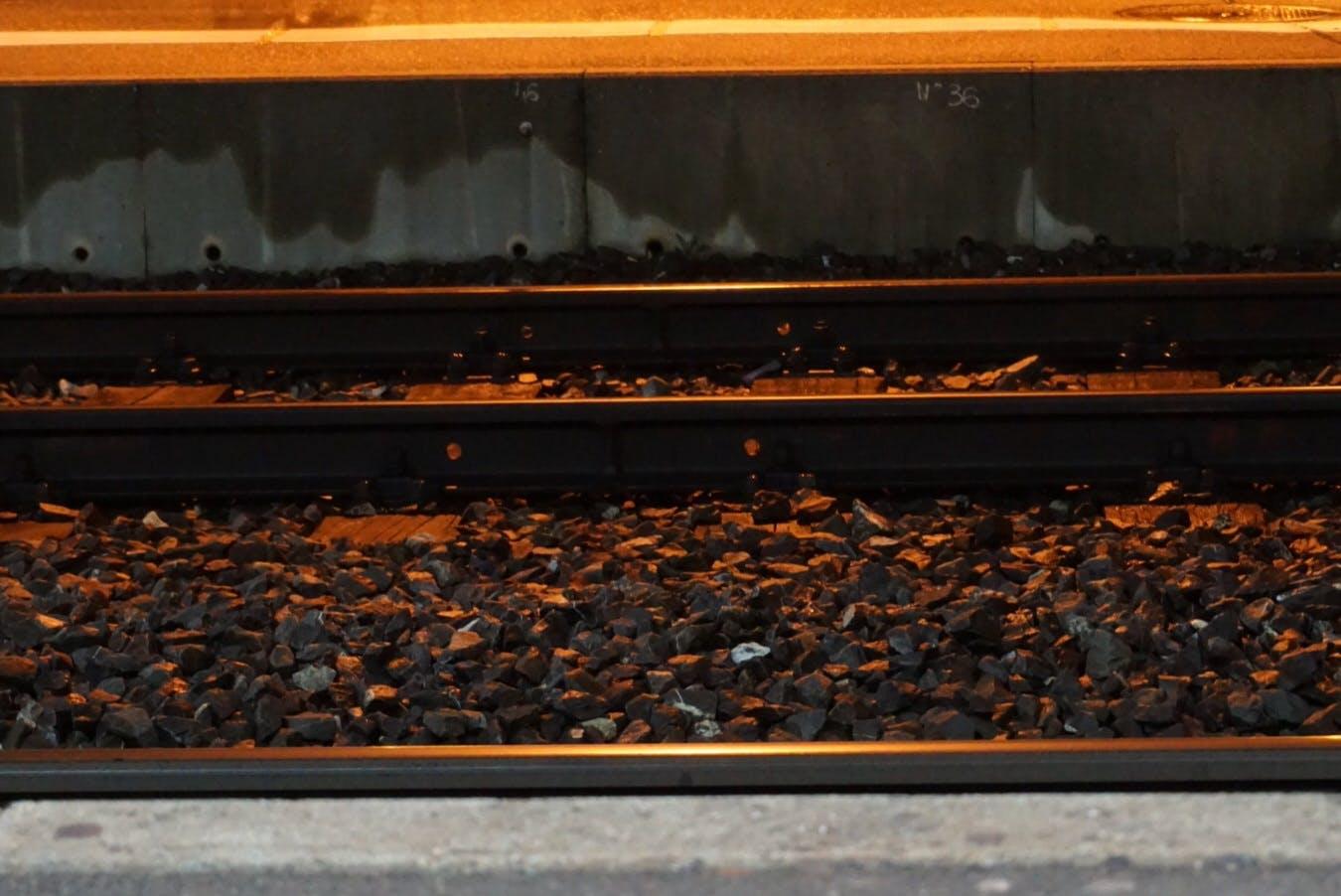 Free stock photo of night, train, trainstation