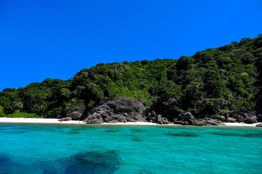 Kostenloses Stock Foto zu strand, blau, paradies, thailand