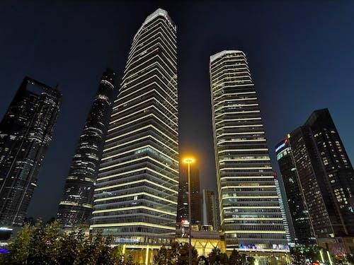 Foto profissional grátis de arquitetura, arranha-céu, centro da cidade