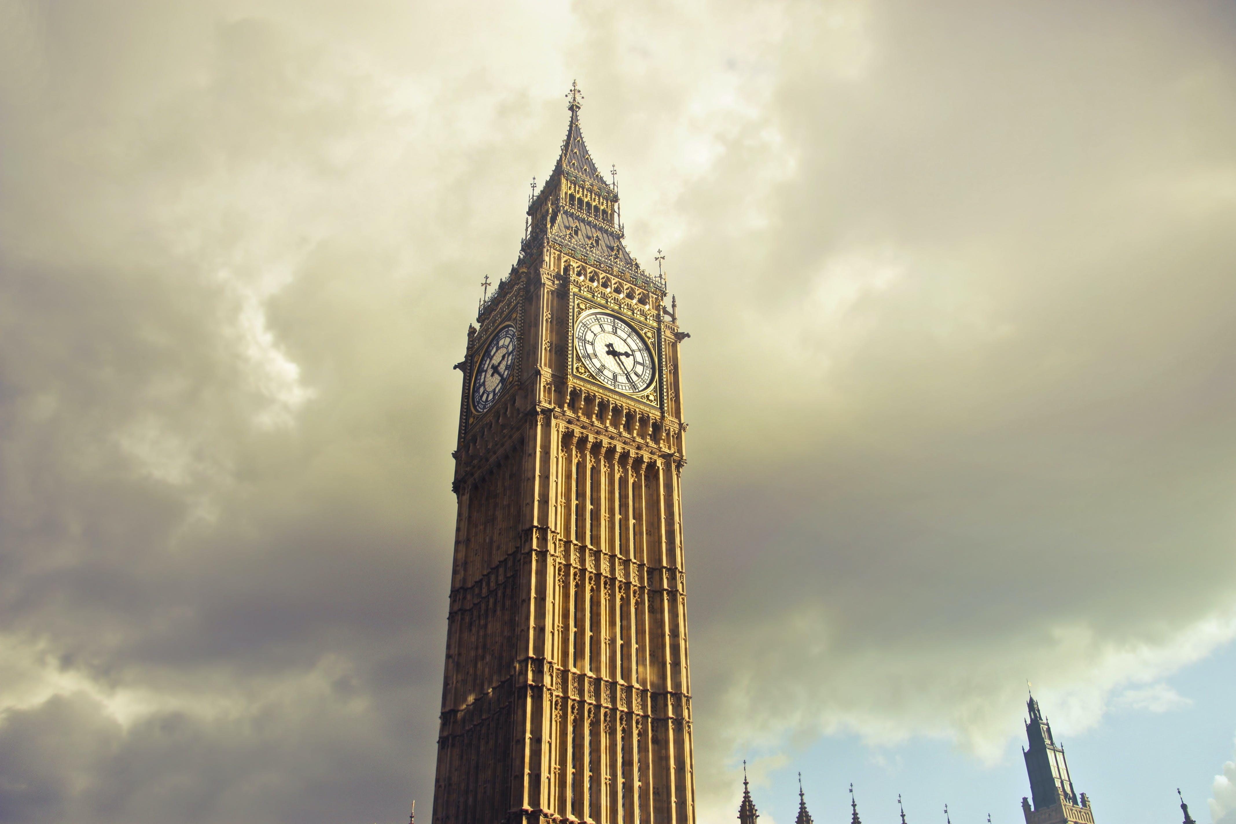 Δωρεάν στοκ φωτογραφιών με big ben, Αγγλία, αρχιτεκτονική, αστικός