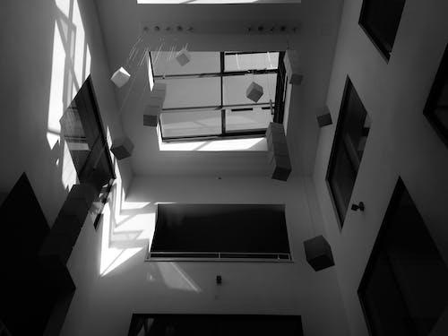 Darmowe zdjęcie z galerii z architekt, czarno-biały