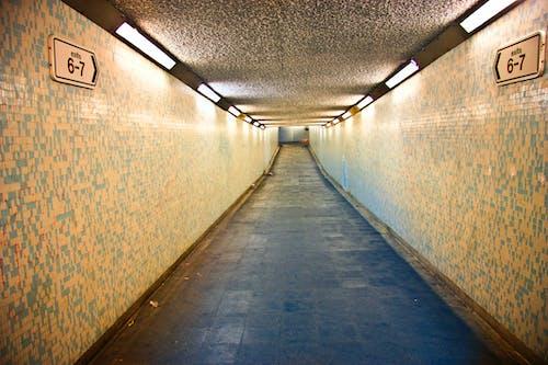 Alley Photography of Grey Walkway