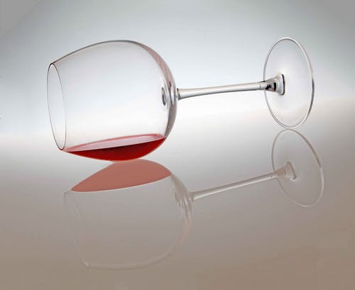 Free stock photo of glass of wine, red wine, reflection