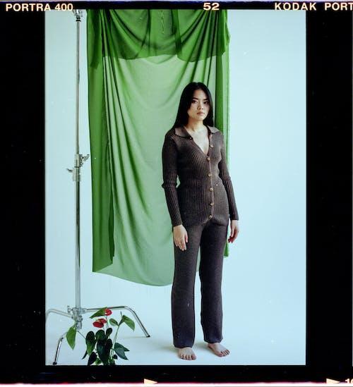 アジアの女性, アンスリウム, エレガントの無料の写真素材