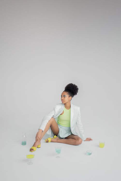 Základová fotografie zdarma na téma afroameričanka, atraktivní, brunetka