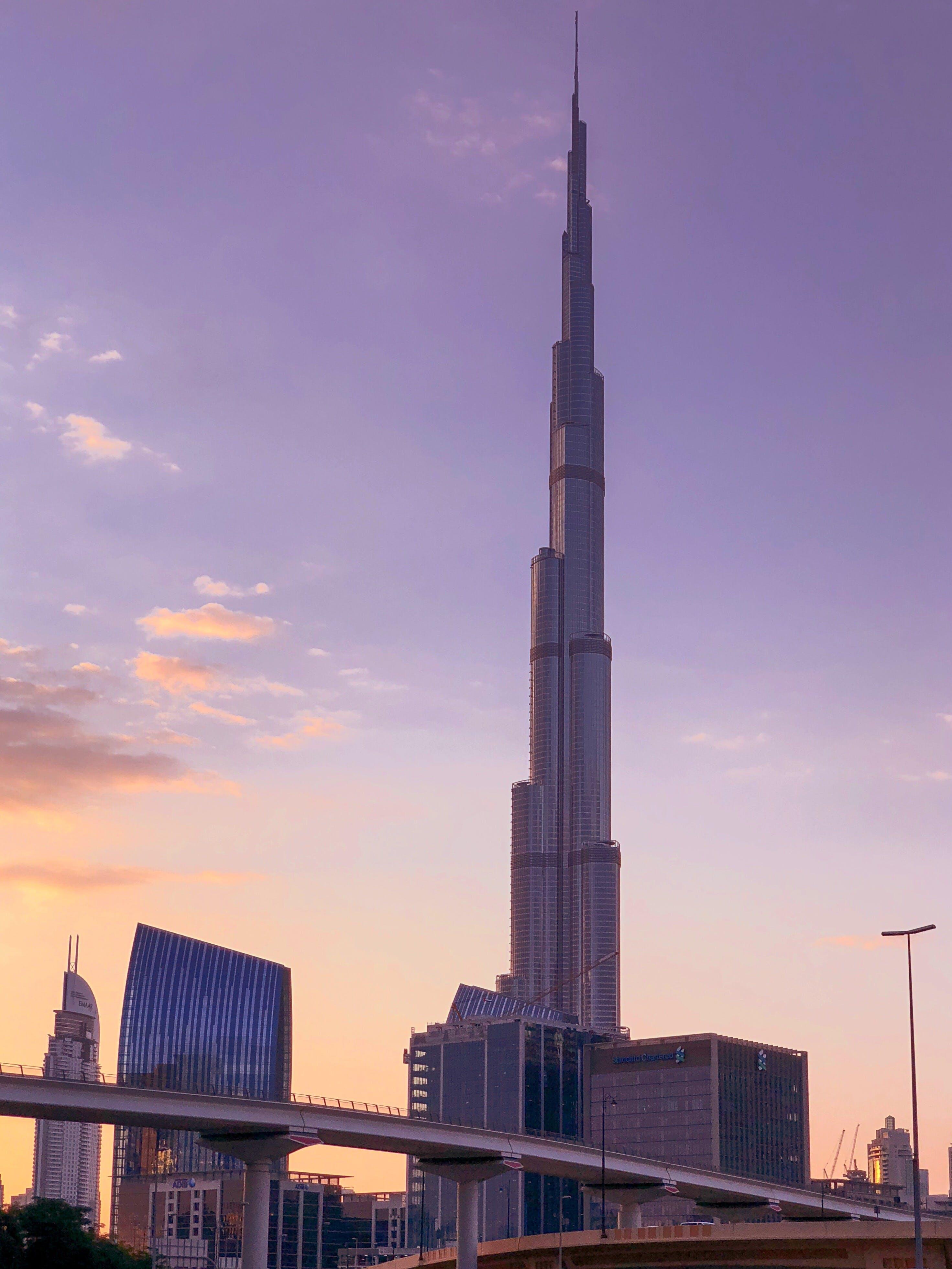 Immagine gratuita di architettura, attrazione turistica, burj khalifa, centro città