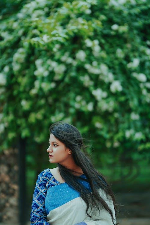 Бесплатное стоковое фото с волос, волосы, девочка