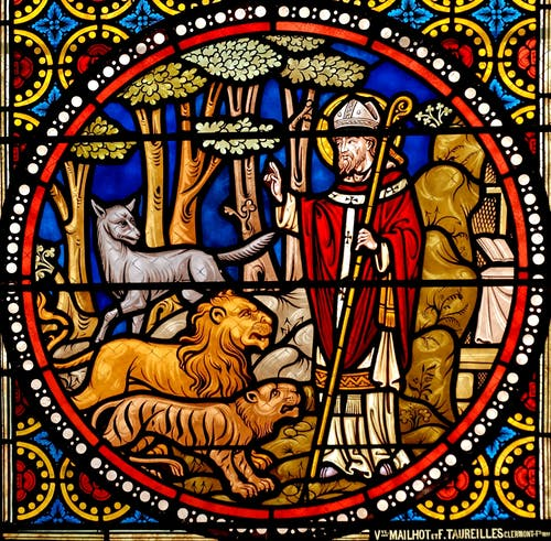 st austremonius, 彩色玻璃, 教堂的窗戶, 教會 的 免费素材照片