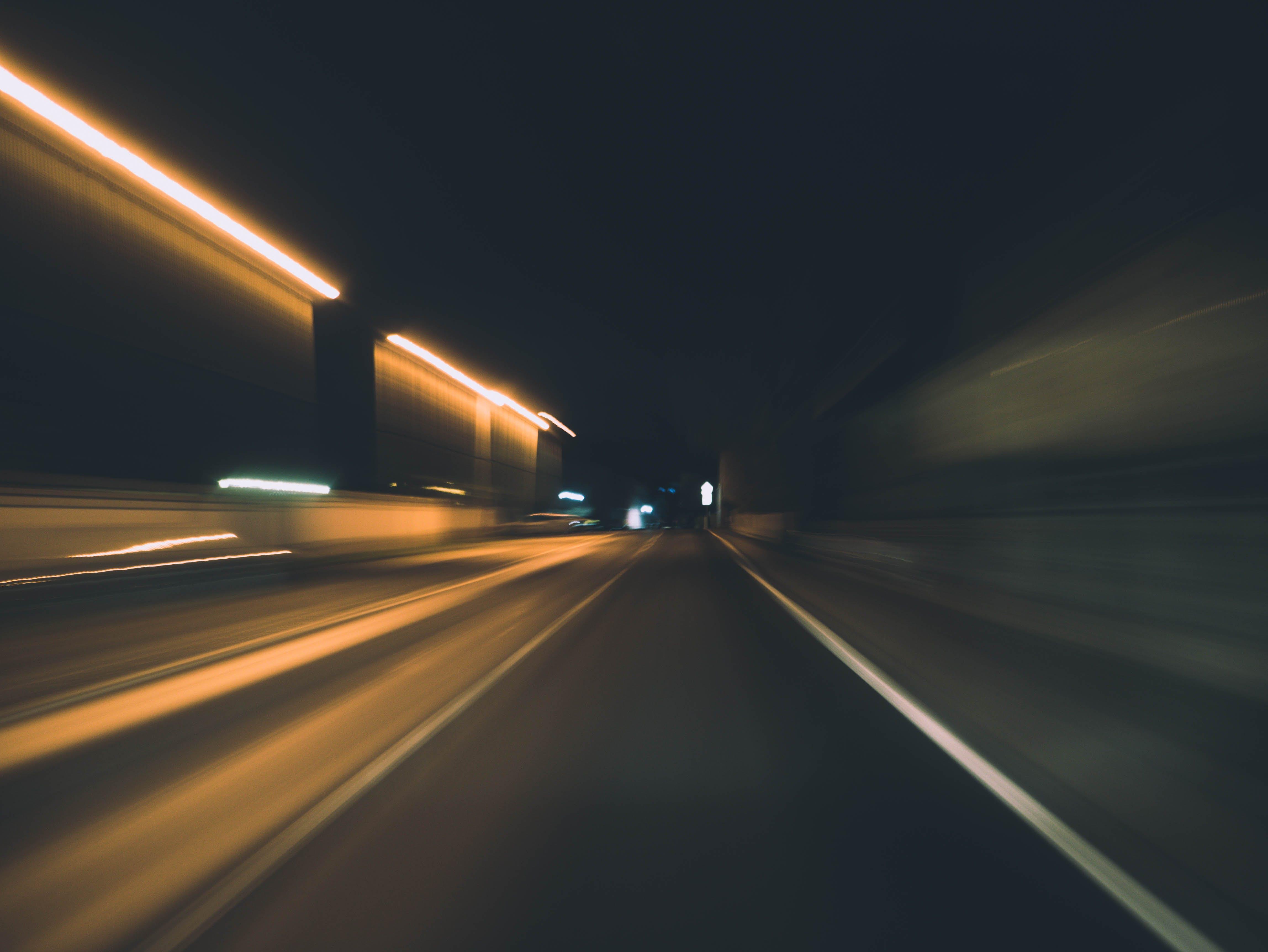 asphalt, blur, dark