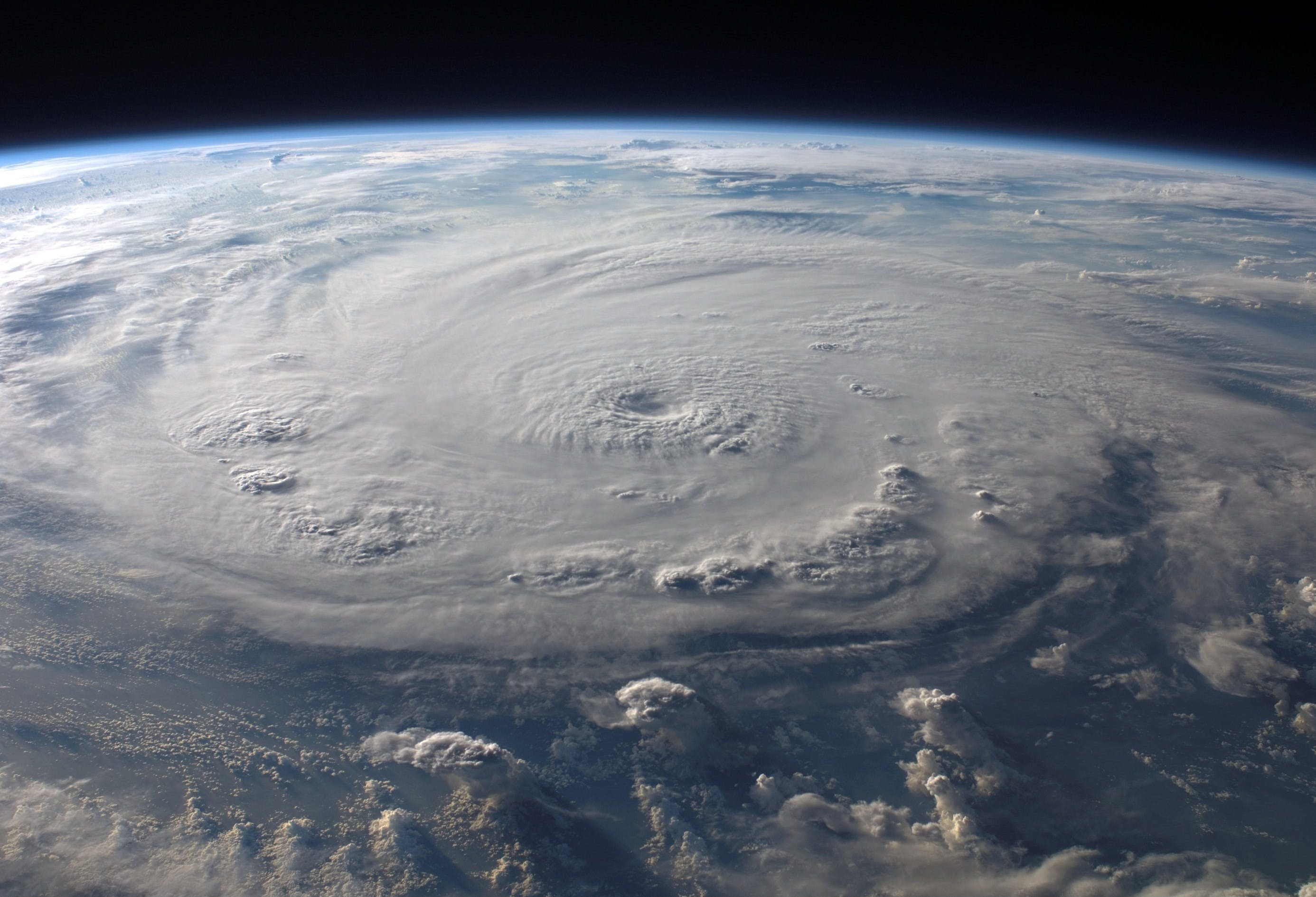 Foto stok gratis angkasa, awan, bumi, cuaca