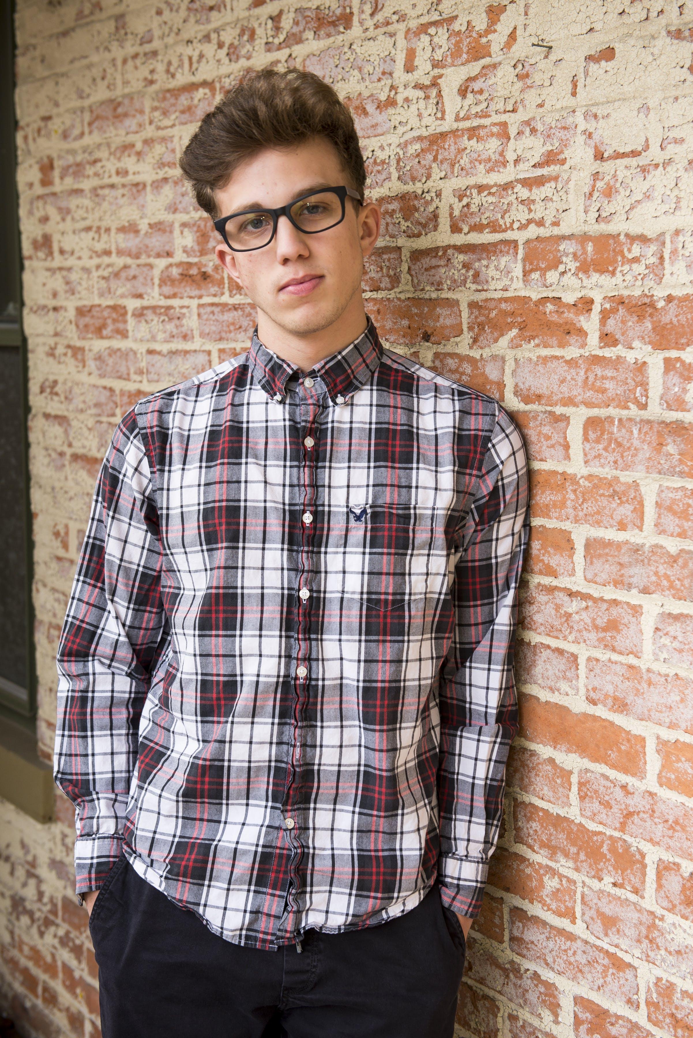 Gratis lagerfoto af afslappet, briller, fashionabel, flot