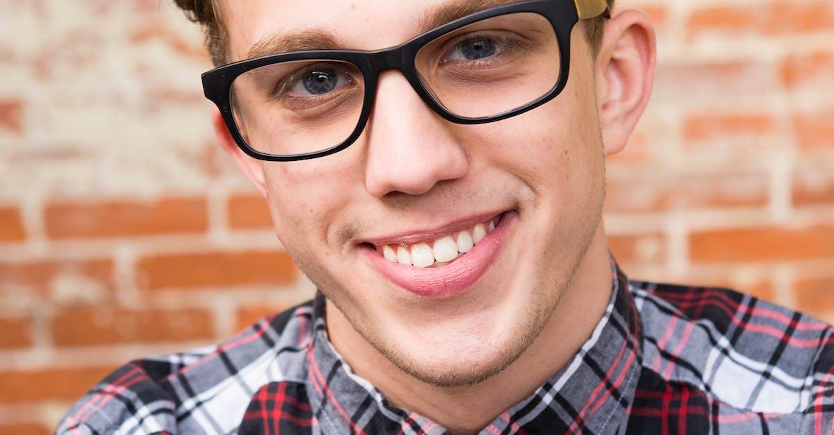 Man Wearing Eyeglasses And Smiling · Free Stock Photo