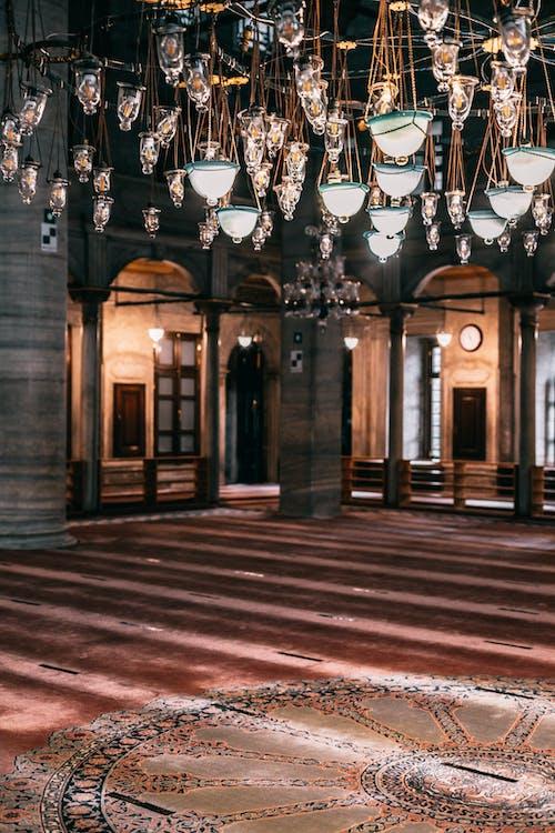 イスタンブール, イスラム教, インテリア・デザインの無料の写真素材