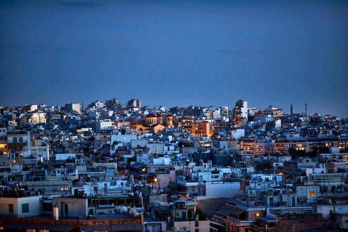 กรีซ, ตัวเมือง, ตึก