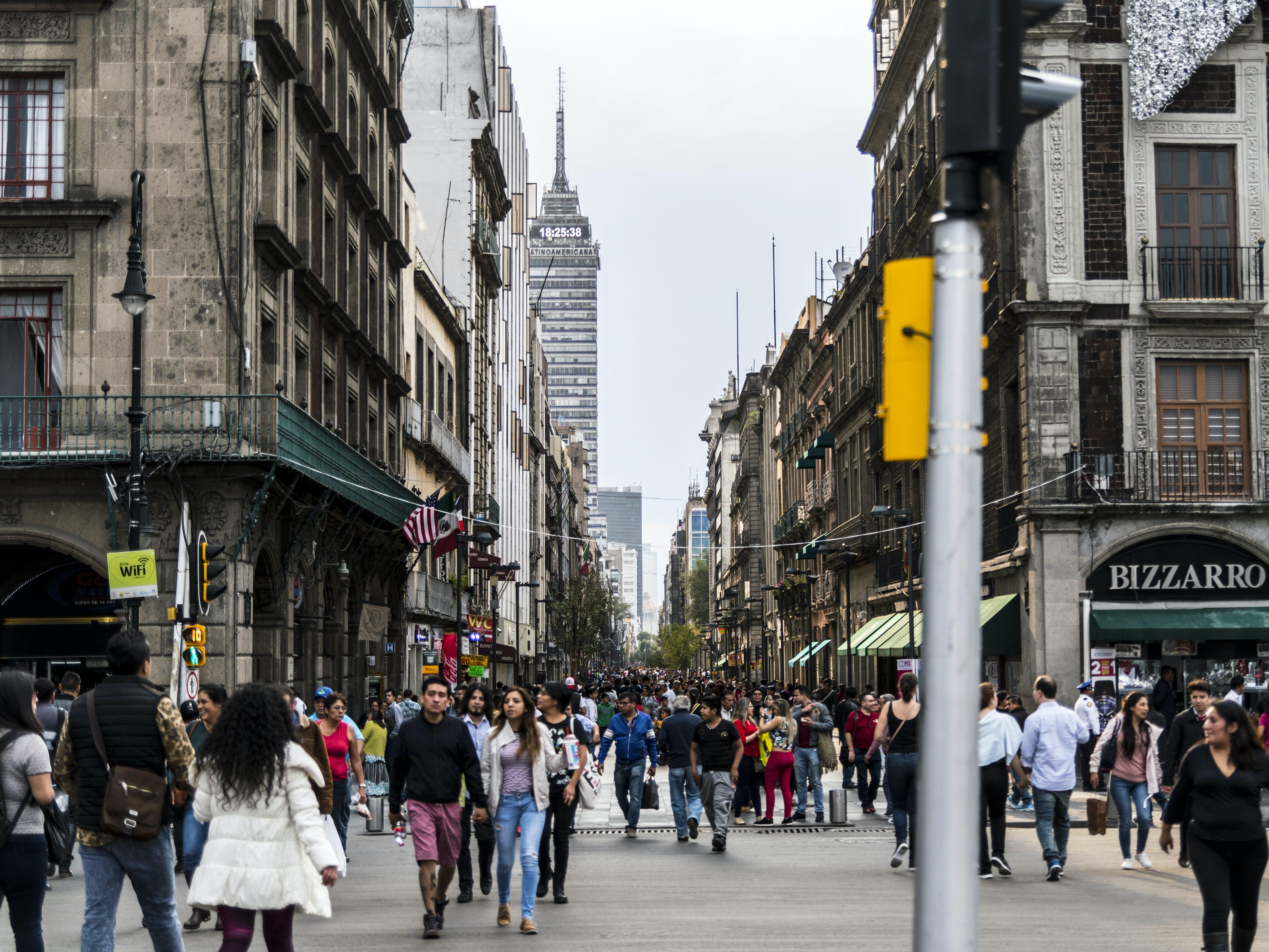 Free stock photo of Madero Street