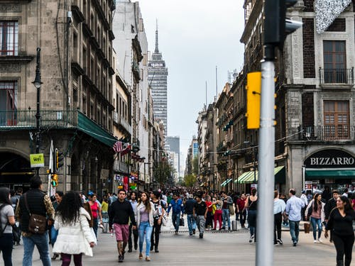 Free stock photo of Madero Street