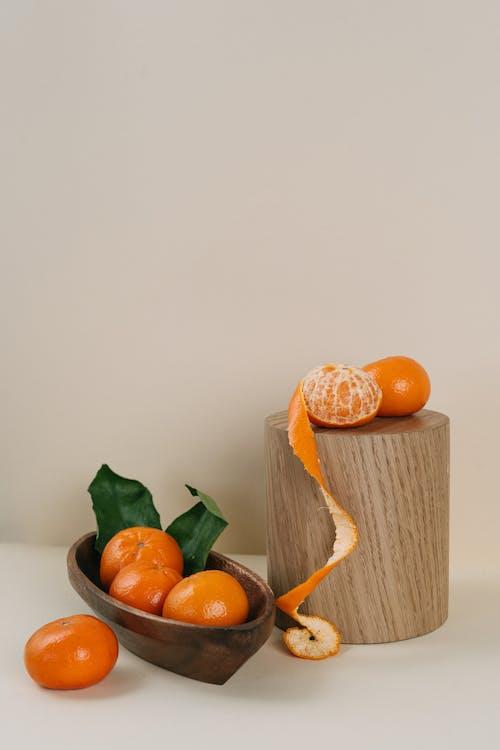 Ilmainen kuvapankkikuva tunnisteilla appelsiini, hedelmä, kuorittu